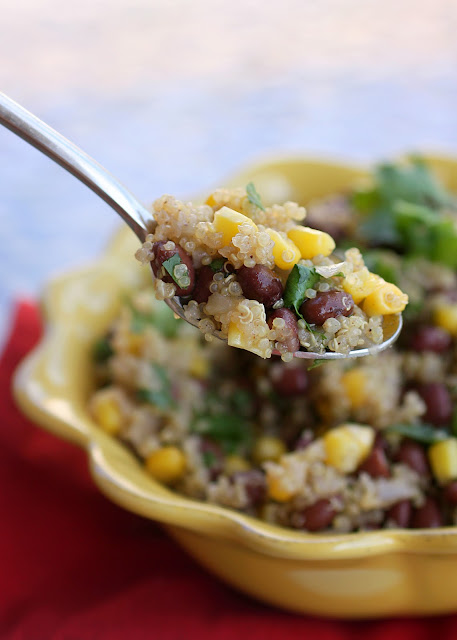 Quinoa and Black Bean Salad (Vegan) - The Girl Who Ate Everything