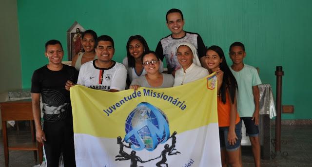 Lideranças da JM visitam grupo de jovens da Comunidade de Cristo Operário, de Porto Nacional (TO)
