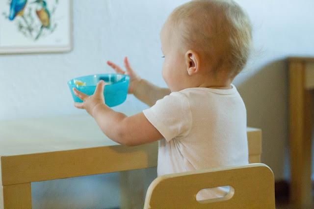 Montessori baby, 13 months