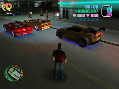 gta vice city ultimate cars