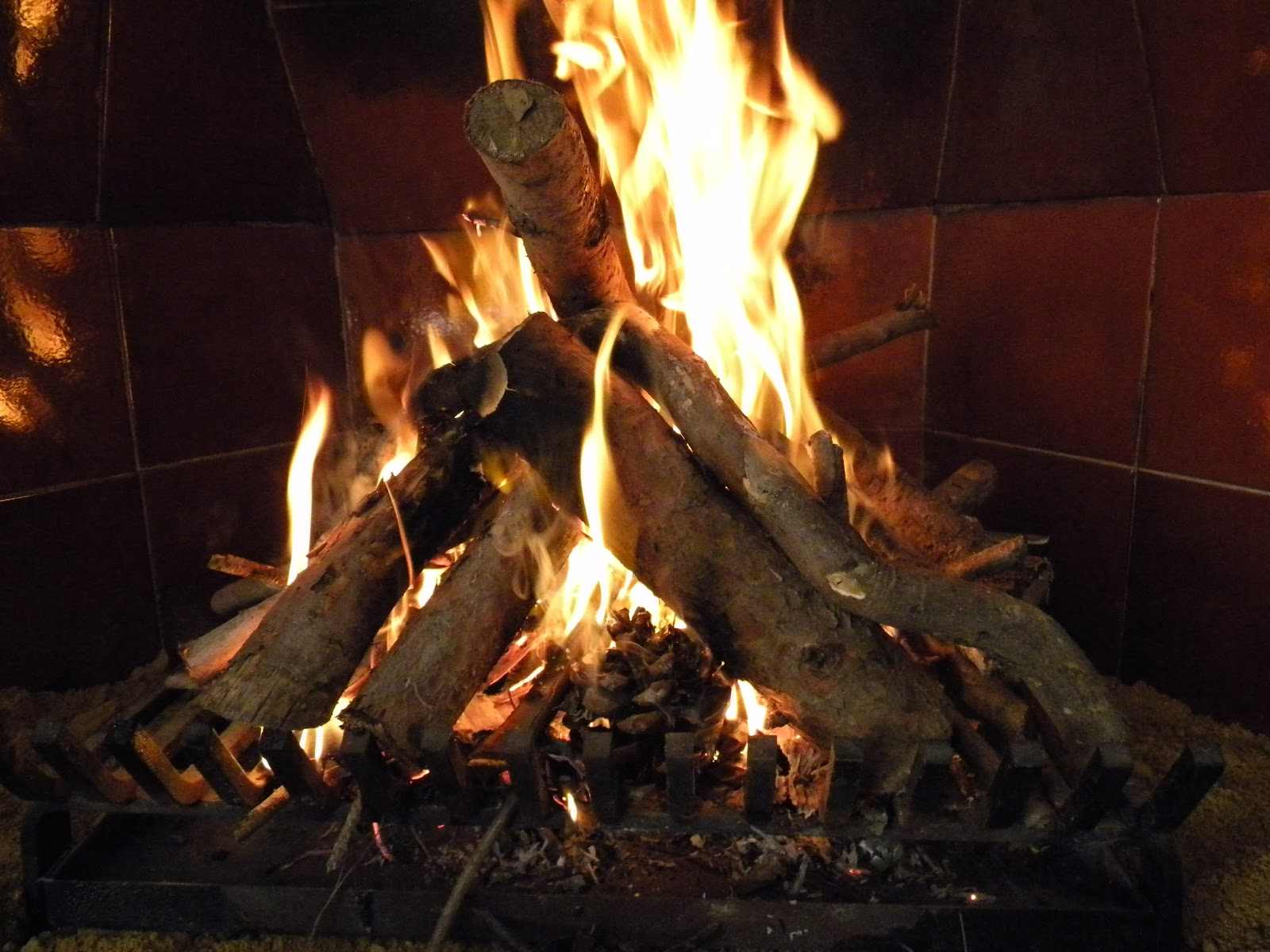 El huerto de tatay al calor de la chimenea - Cocinar en la chimenea ...