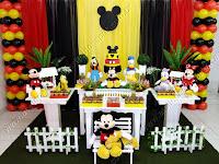 Decoração festa infantil Porto Alegre - Mickey