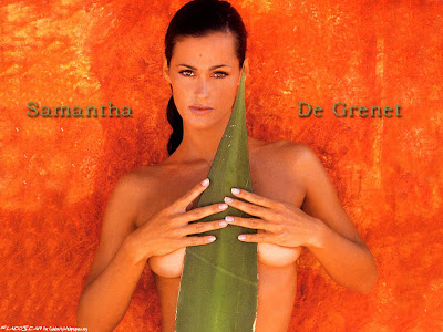 Samantha De Grenet Topless Wallpaper