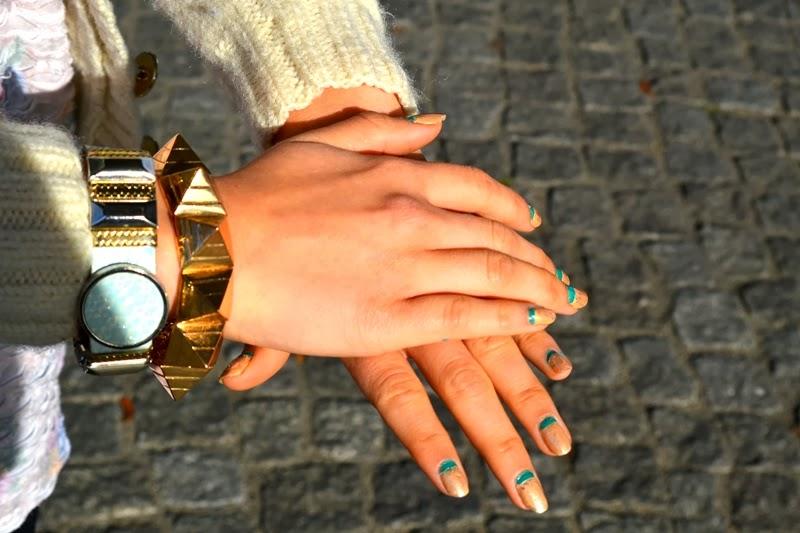 nailart nägel kosmetik armband