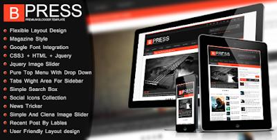 Template BPress Blogger Version