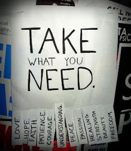 take what you need...