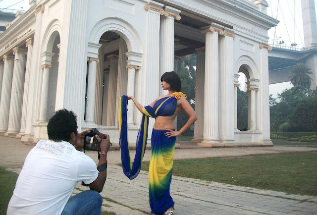 Aisha sagar Photo shoot in Kolkata