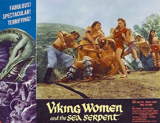 Lobby card - The Viking Women and the Sea Serpent (1957)