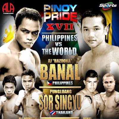 Pinoy Pride XVII: Banal vs Sor Singyu Result