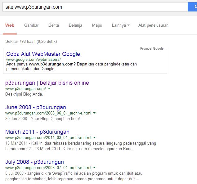 belajar seo blogspot untuk bisnis online