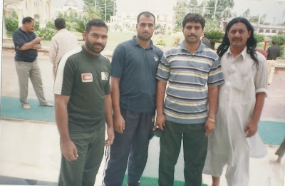 Ch muhammad mansha (Left) with Friends