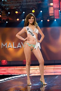 Nadine Ann Thomas Miss Universe Malaysia 2010 Hot Photo Gallery 5
