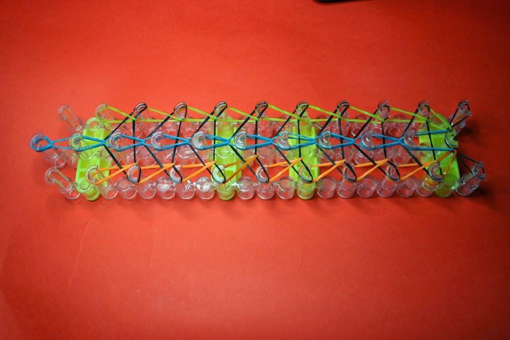 Telar para pulseras de gomas
