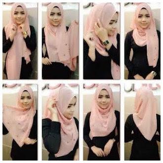 Tutorial Cara Memakai Hijab Modern Dan Modis