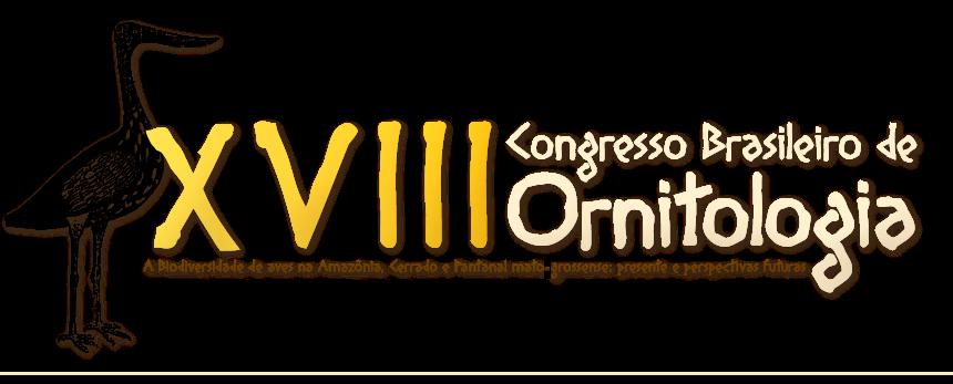 XVIII Congresso Brasileiro de Ornitologia