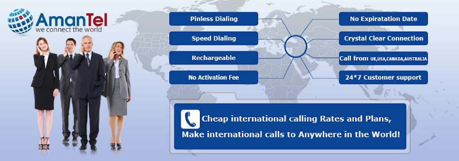 Amantel.com - Cheap international calling