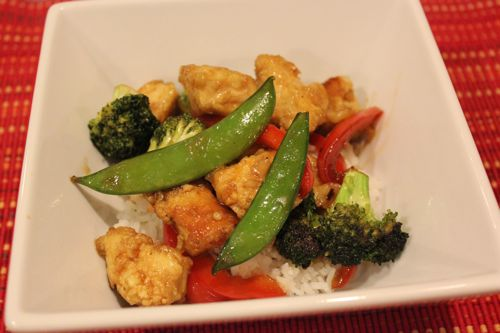 Mom's Cooking Club: Honey Chicken Stir Fry