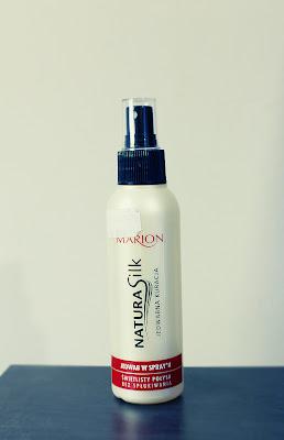 marion, jedwab, natura silk, elektryzowanie się włosów, pielęgnacja zimą, suche włosy