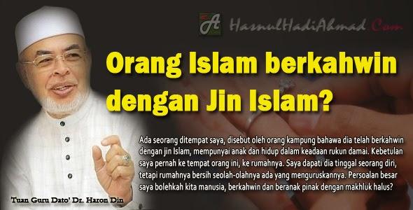 BOLEHKAH ORANG ISLAM BERKAHWIN DENGAN JIN ISLAM