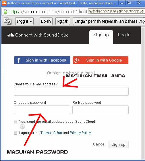 Cara Memasang Lagu Di Blog Via Soundcloud