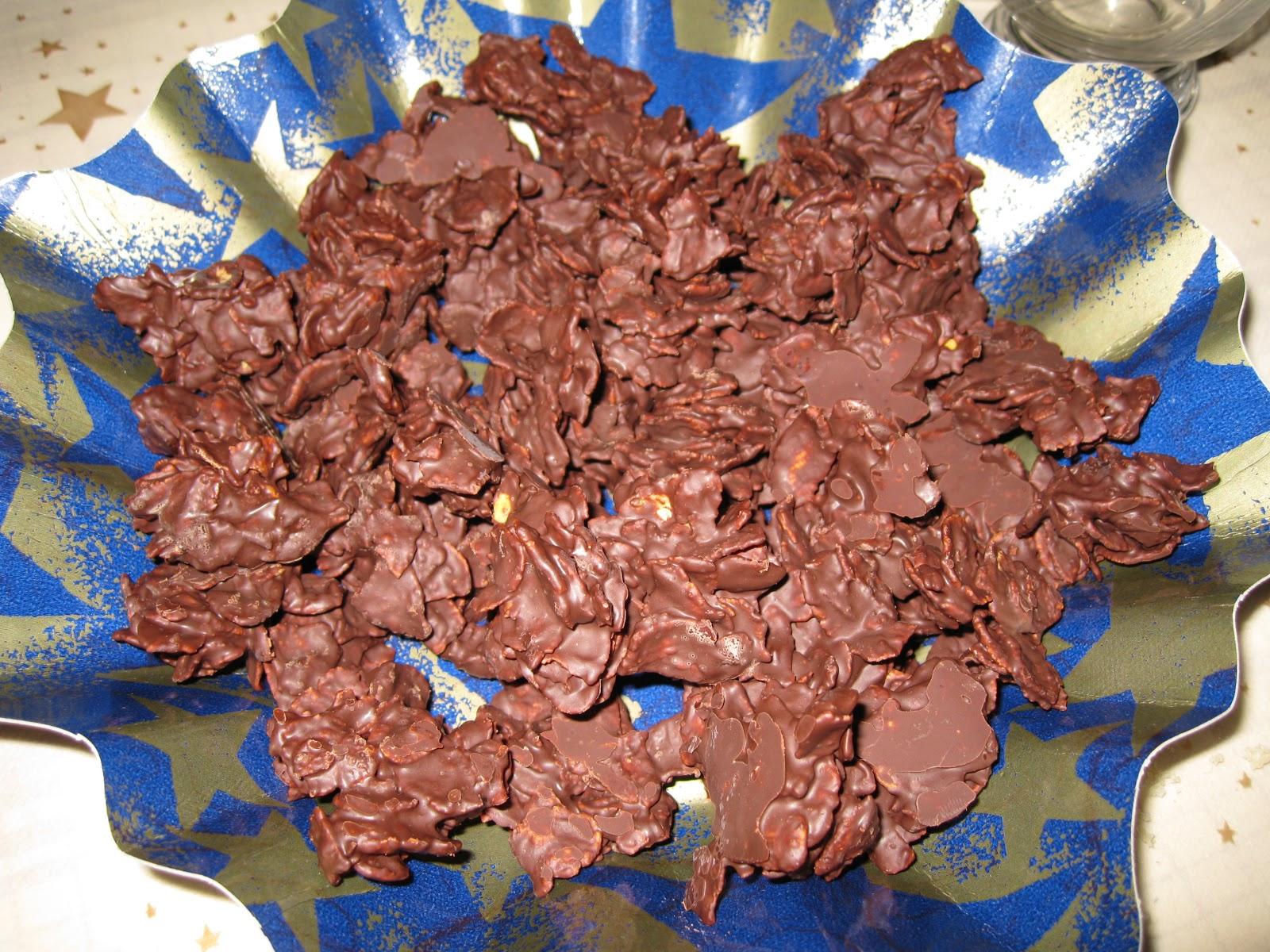 recette rose des sables chocolat sans vegetaline. Black Bedroom Furniture Sets. Home Design Ideas
