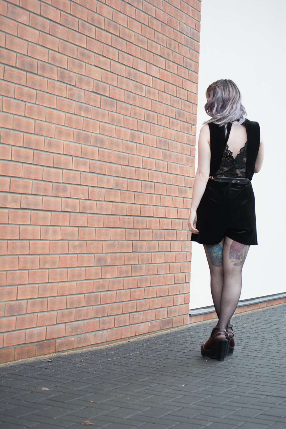 Date Night Valentine's Outfit topshop playsuit ootd