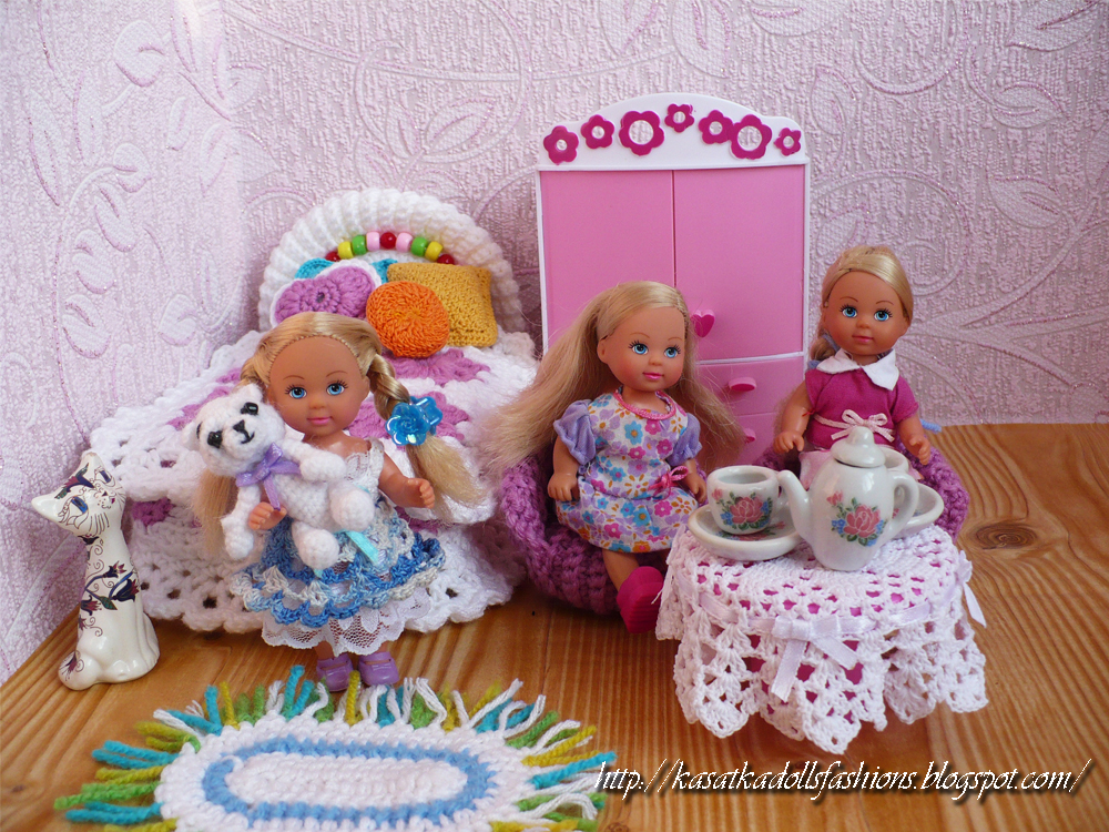 Домик для куклы своими руками из одной коробки 1
