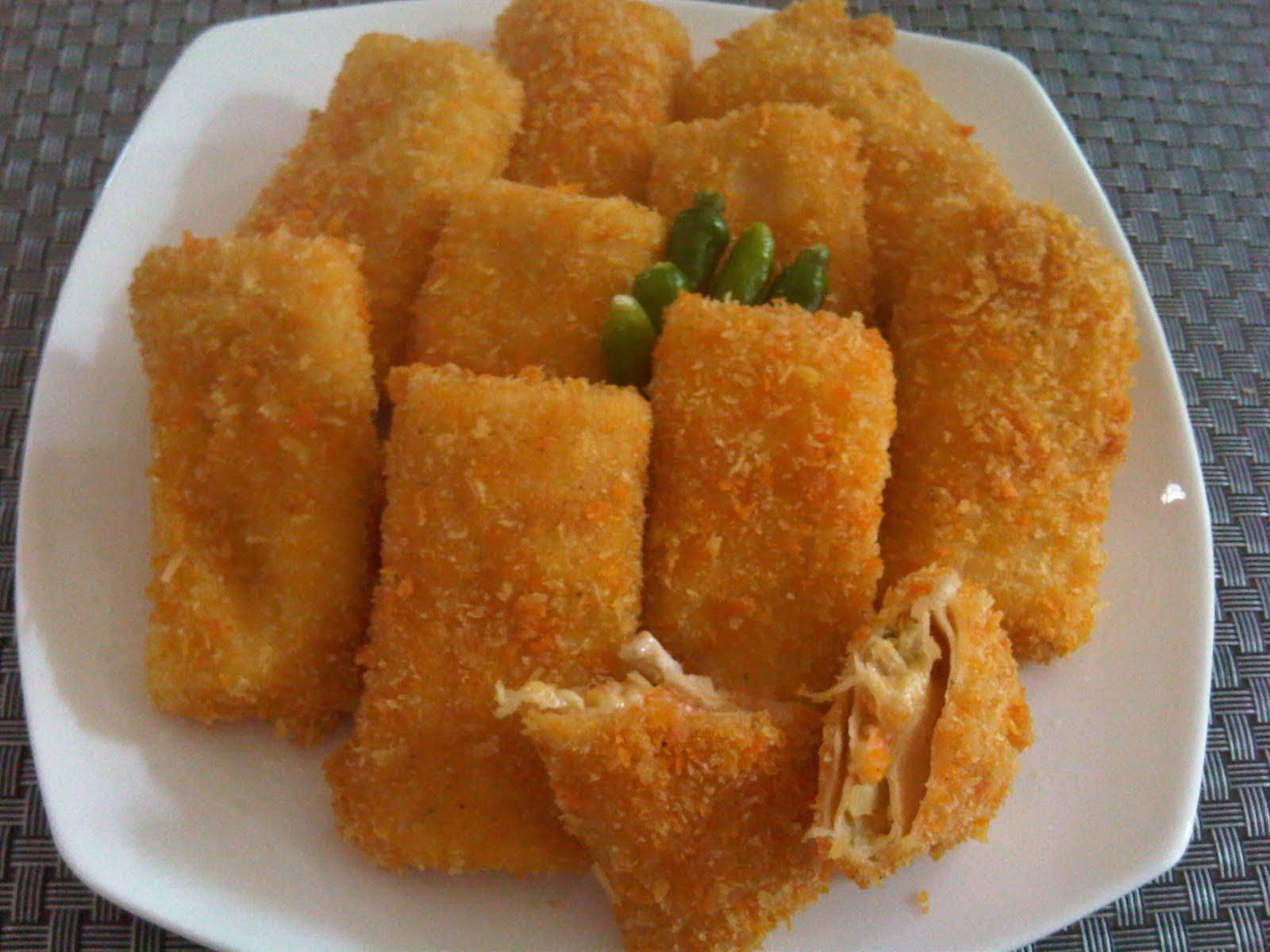Resep Risoles Ragout Ayam Lezat