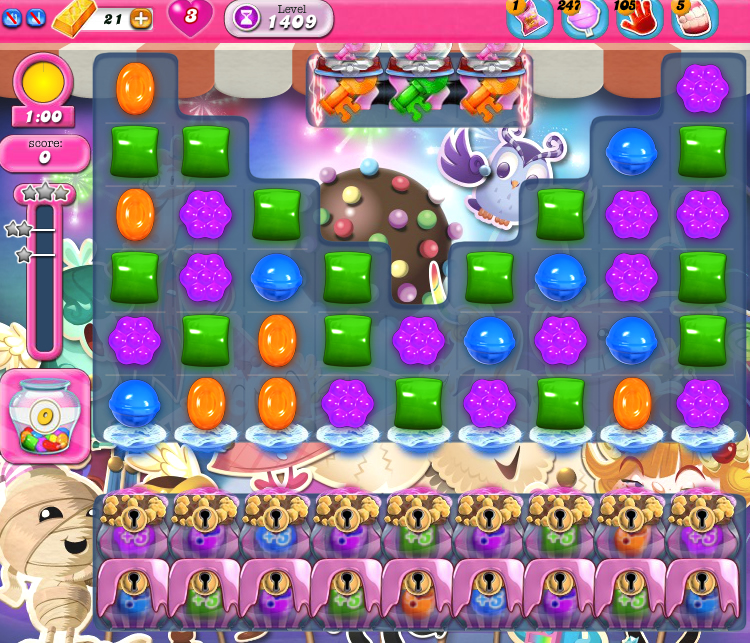 Candy Crush Saga 1409