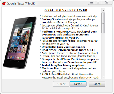 nexus7 root toolkit
