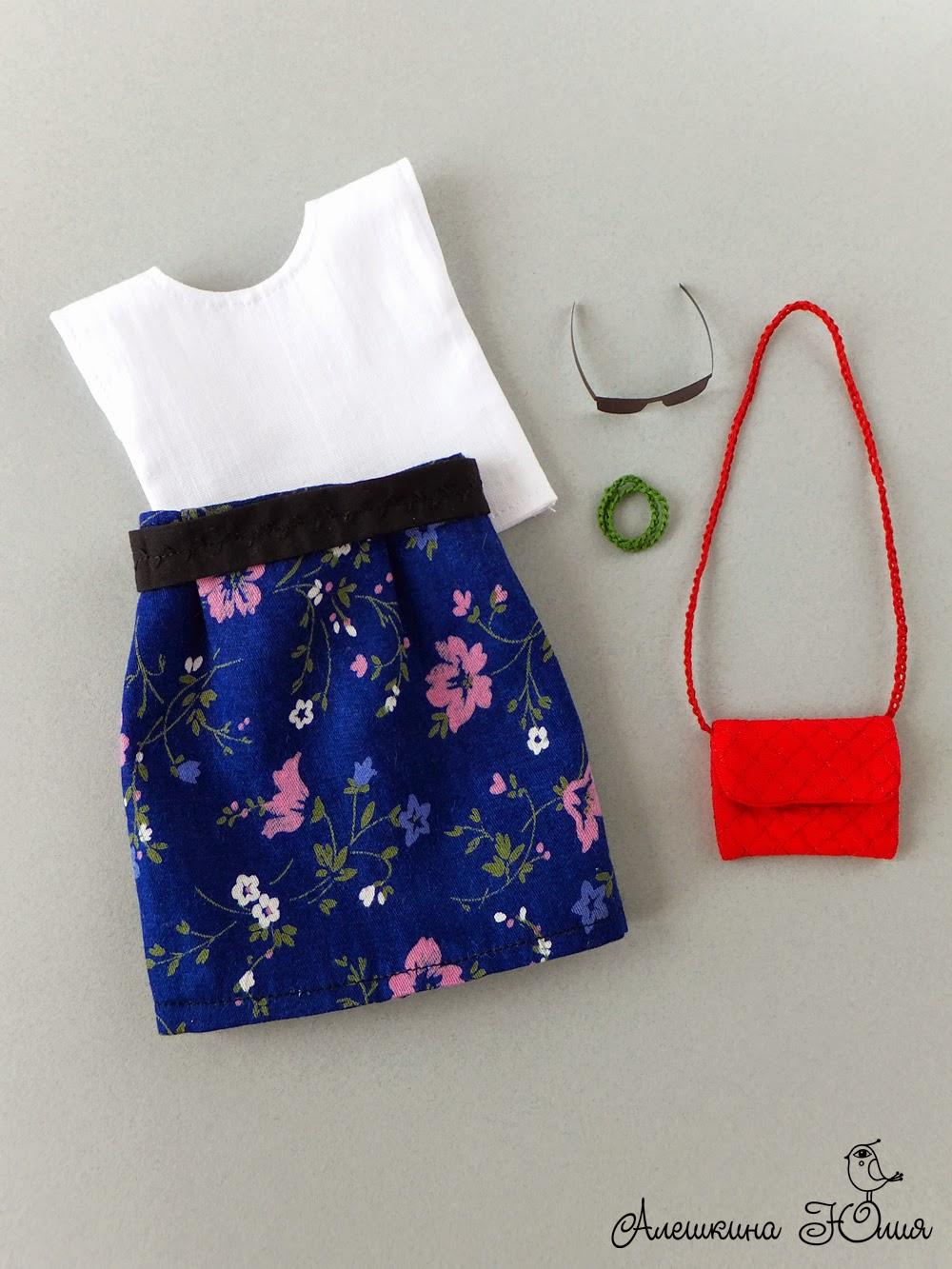 Модная одежда для куклы