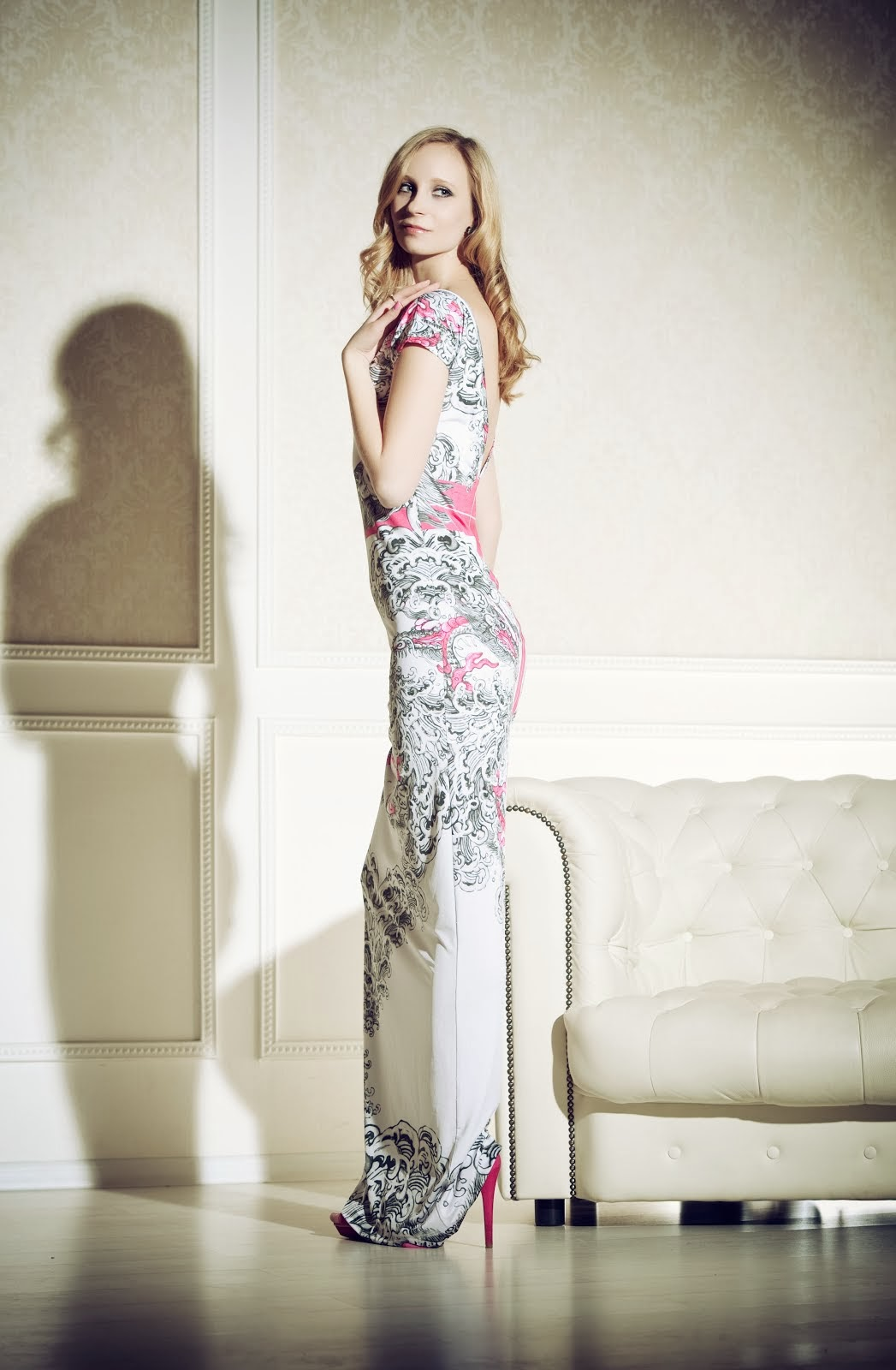 Anna Ivanova long dress