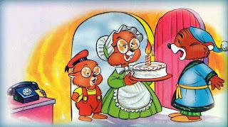 FABULA SOBRE EL EGOISMO Y GENEROSIDAD: La familia topo y el liron -  Cuento para niños