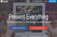 Bunkr: para hacer presentaciones similares a las de PowerPoint usando HTML5