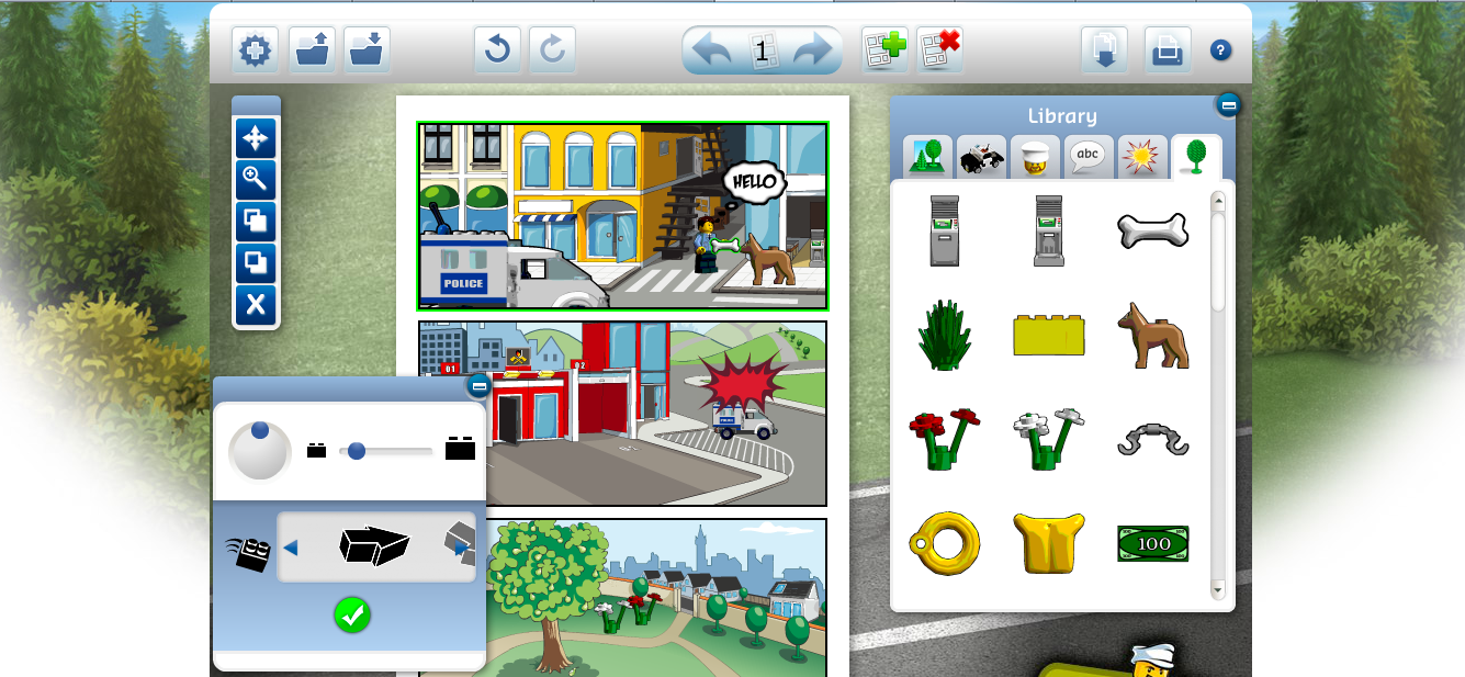 Legoreve logiciel gratuit en ligne lego comic builder - Modele lego gratuit ...