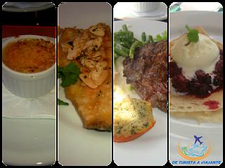 Opções do cardápio do restaurante Seu Jordão, em Campos do Jordão