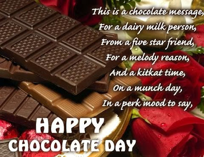 Chocolate Day SMS/ Text Messages/ Greetings/ Facebook Statuses | 9 February