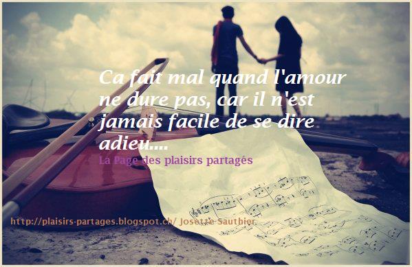 La Page des Plaisirs Partagés: Citation sur la rupture amoureuse