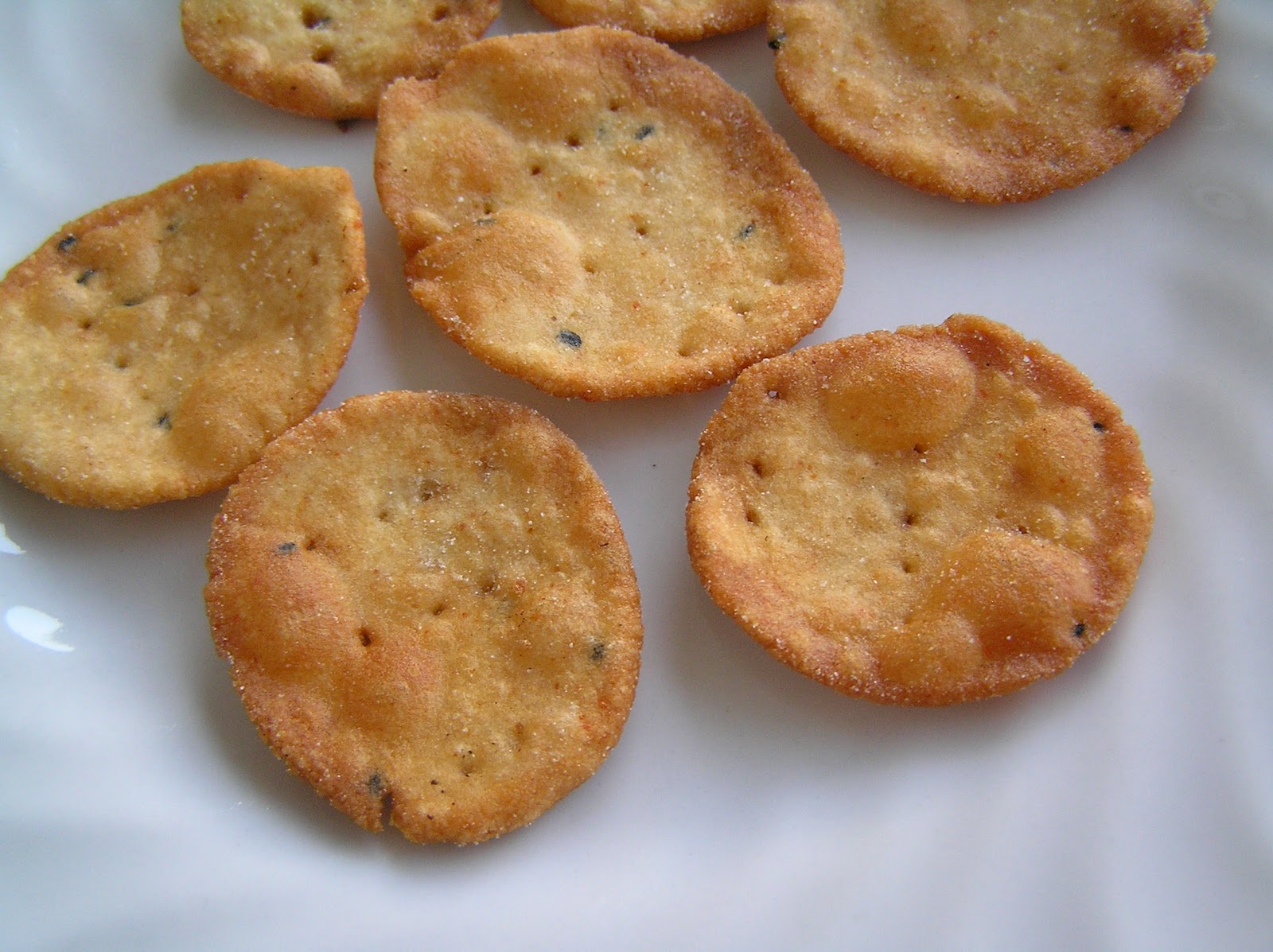 Рецепт солёных крекеров в домашних условиях