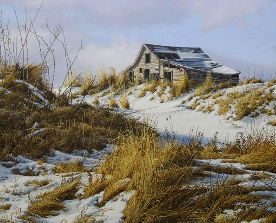 Im genes arte pinturas cuadros de paisajes del campo y for Pinturas para casas de campo
