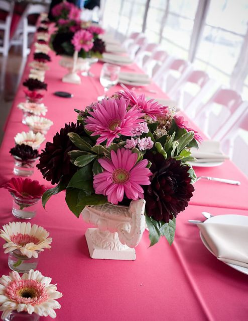 Wedding Bells Pink ideas black and pink wedding