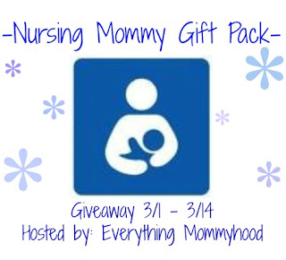 breastfeed FREE Blogger Opp! ~ Nursing Mommy Gift Pack Giveaway!