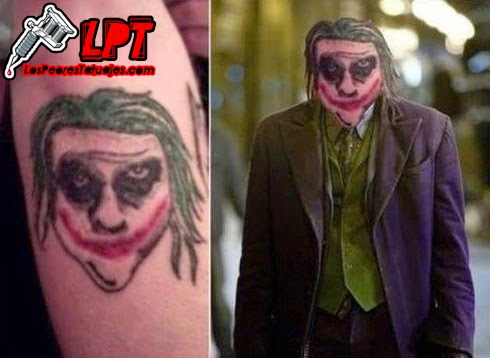 Tatuaje FAIL : The Joker
