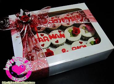 Engagement Cupcakes/Cupcakes Hantaran