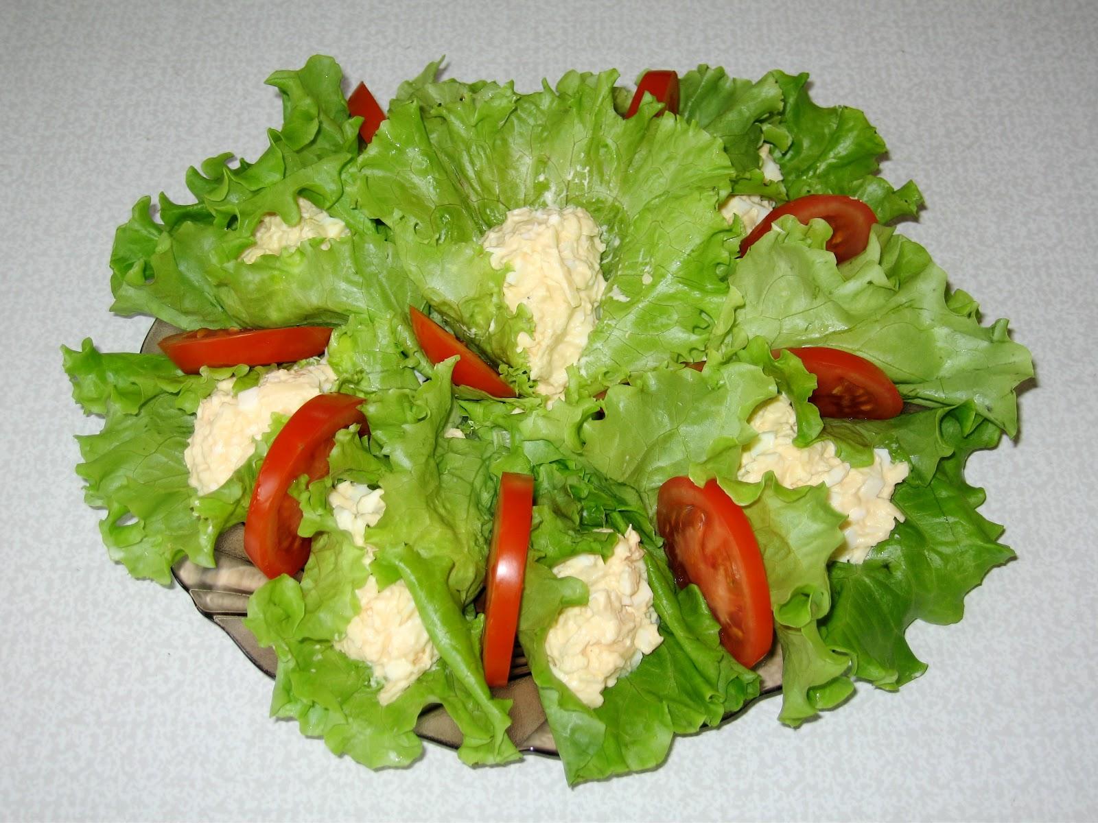 Салат вкусный с листьями салата рецепты с