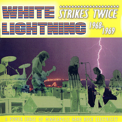 White Lightning - Strikes Twice (1968-1969 Raw Us Psychedelic Rock - Wave)