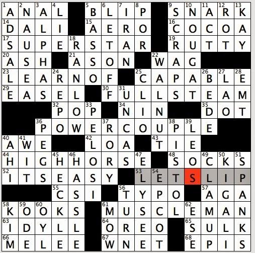 Shoulder Bag E.G. Crossword 16
