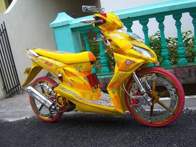 Galeri Gambar Modifikasi Honda Beat Terbaru 2013