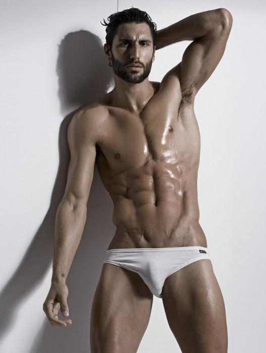 Busty nude model from x art