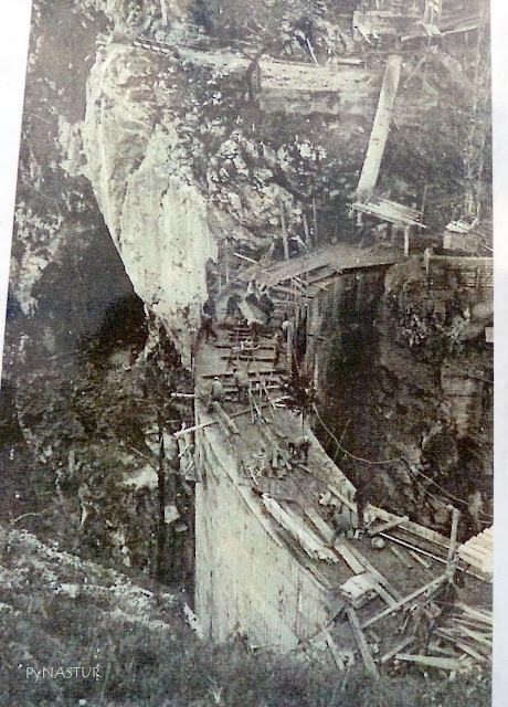 Construcción de La Presa de La Jocica - Asturias